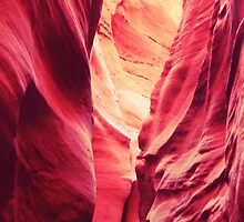Slot Canyon Colors by Roupen  Baker