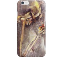 A wish to die artistically iPhone Case/Skin