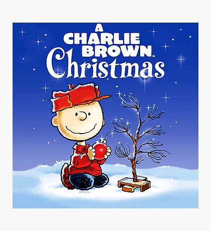 CHARLIE BROWN X'MAST 2017 Photographic Print
