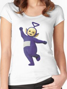 Tinky Winky Women's Fitted Scoop T-Shirt