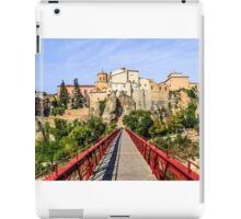 Red bridge to the Old Town iPad Case/Skin