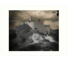 The Ruins of Čachtice Castle ~ Home of Lady Elizabeth Báthory Art Print