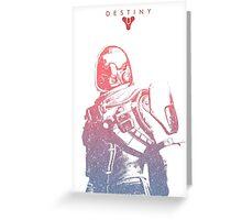 Destiny Hunter Greeting Card