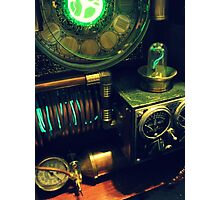Steampunk Time Machine 1.0 Photographic Print