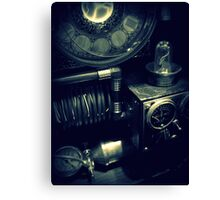 Steampunk Time Machine 1.1 Canvas Print