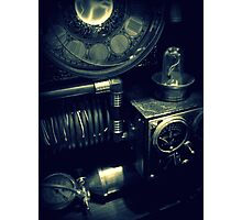Steampunk Time Machine 1.1 Photographic Print