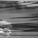 Magic Sands Beach in B&W by Randy Richards