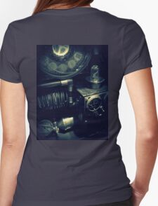 Steampunk Time Machine 1.1 Womens Fitted T-Shirt