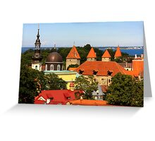 Tallinn, Estonia Greeting Card