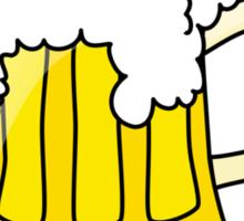 10 Cent Beer Night Sticker