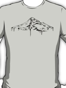 Mt. Hood Black T-Shirt