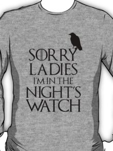 In The Night Watch T-Shirt