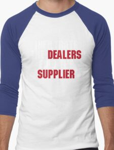 """21 Jump Street, """"Infiltrate the Dealers, Find the Suppliers"""" Men's Baseball ¾ T-Shirt"""