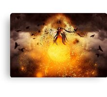 Passion for Music Canvas Print