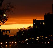 Canadian Sunset by Vicki Spindler (VHS Photography)