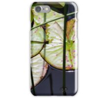 Lily Pad Abstract iPhone Case/Skin