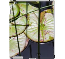 Lily Pad Abstract iPad Case/Skin