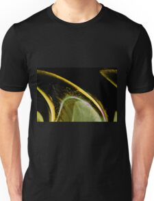 Wedge an abstract resembling a lemon wedge Unisex T-Shirt