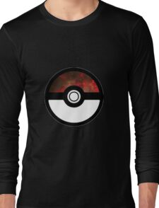 Galaxy Pokeball Long Sleeve T-Shirt