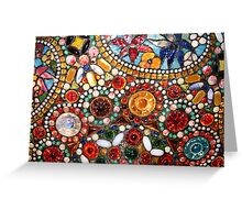 Abstract beads Greeting Card
