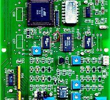 IT Geek Circuit Board Tech by dvampyrelestat
