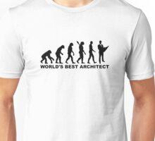 Evolution world's best Architect Unisex T-Shirt