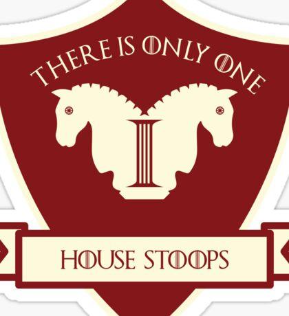 Oklahoma Game of Thrones Sticker