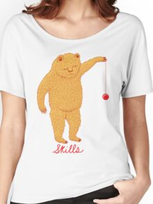 Skills Bear with Yoyo Women's Relaxed Fit T-Shirt