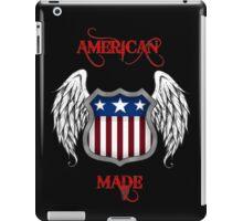 American Made (Black) iPad Case/Skin