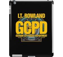 Custom Gotham Police - Rowland iPad Case/Skin