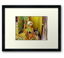 I Am Not Skin-Job! I Am Replicant! And This is Part Time Job Only! Framed Print