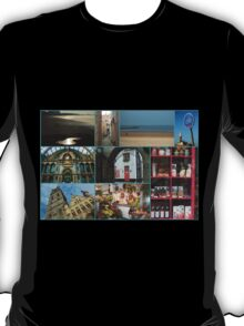 Collage from Belgium - Travel Photography T-Shirt