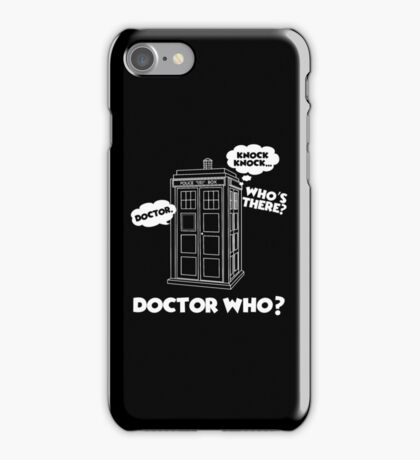 Doctor Who T-Shirt iPhone Case/Skin