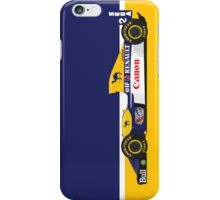 1993 Williams FW15C Formula 1 race car piloted by Alain Prost and Damon Hill iPhone Case/Skin