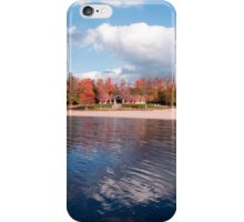 Lake Jean Beach... Before The Plug Is Pulled iPhone Case/Skin