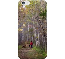 A walk in the forest iPhone Case/Skin