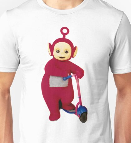 Po on Scooter Unisex T-Shirt