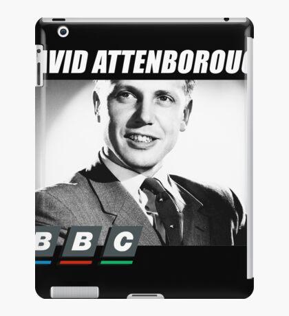 david attenborough iPad Case/Skin