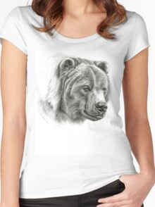 Brown Bear G054 Women's Fitted Scoop T-Shirt