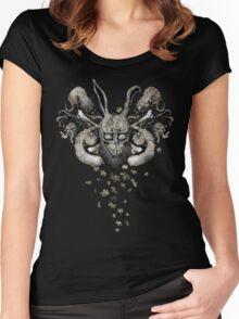 Darko-Sumi (Autumn flavour) Women's Fitted Scoop T-Shirt