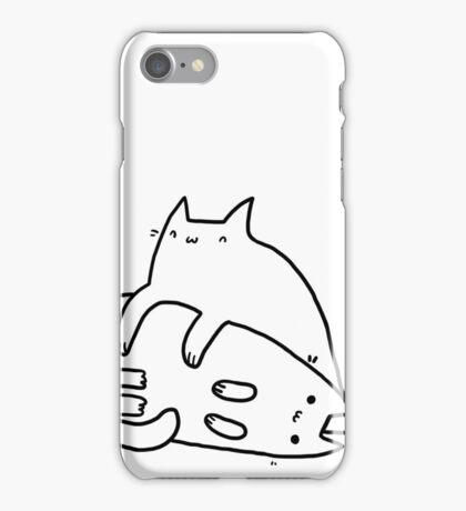 Playing kitties iPhone Case/Skin