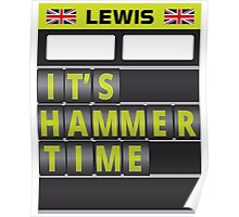 It's hammer time pit board message - no hands Poster
