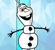 Olaf 'blue' by ch3rryad3