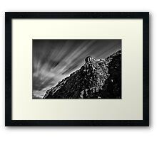 Mussenden Temple - on the edge Framed Print