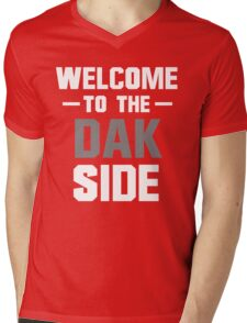 Welcome to the Dak Side Mens V-Neck T-Shirt