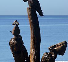 Biloxi Mississippi - Katrina Sculptures by Allen Lucas