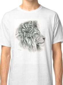 King - Lions profile g044 by schukina Classic T-Shirt