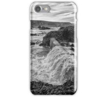 Ballintoy Harbour - The Sea Always Wins iPhone Case/Skin