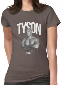 Mike Tyson Womens Fitted T-Shirt