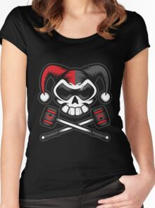 Mistress of Mayhem - Dark Women's Fitted Scoop T-Shirt